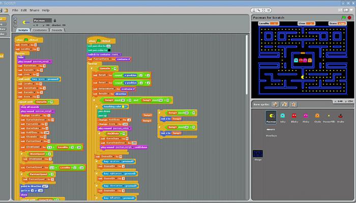 Programació scratch AMIPA Es Molinar