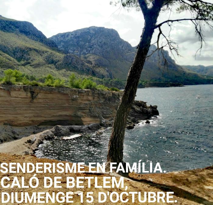 Senderisme - Caló de Betlem