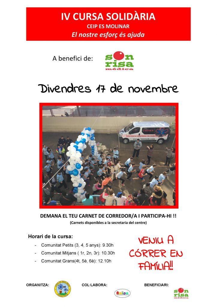 Cursa Solidària CEIP Es Molinar