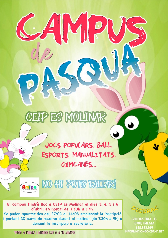 Escola de Pasqua CEIP Es Molinar