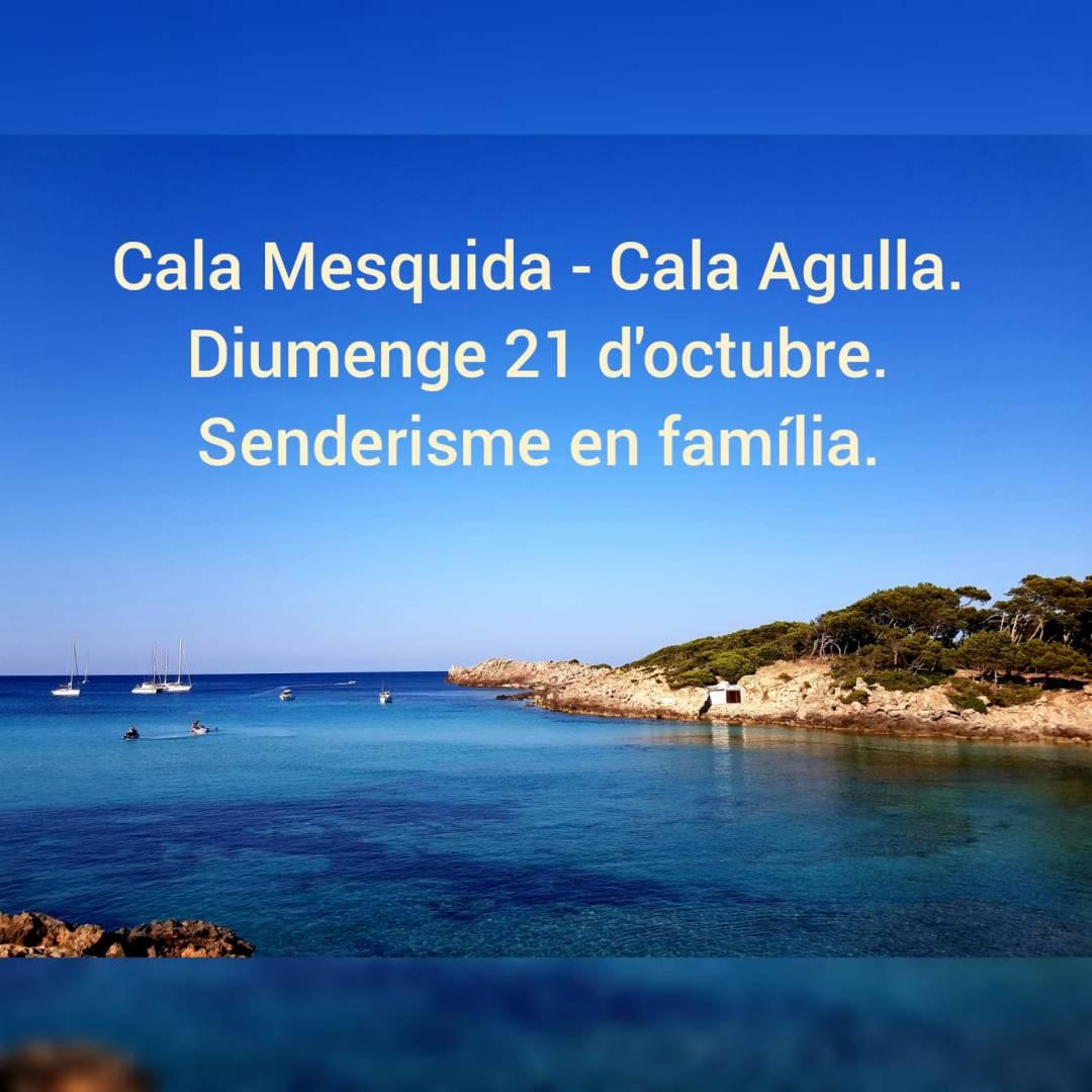 senderisme en família-AMIPA Es Molinar-Cala Agulla