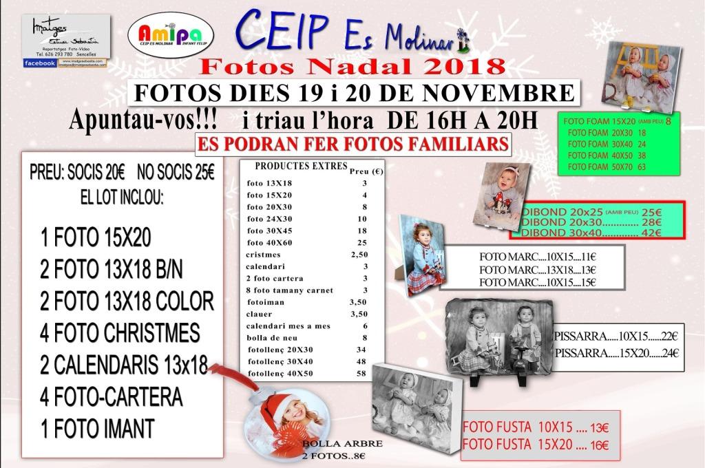 fotos nadal AMIPA Es Molinar